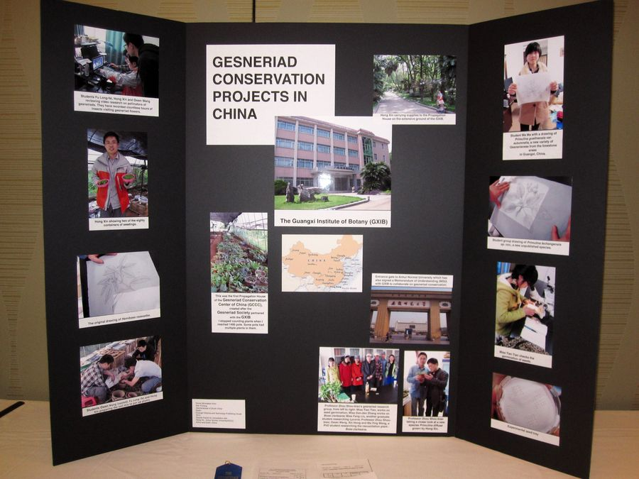 2014 Convention - Class 77 Exhibit illustrating phases of scientific or historical research