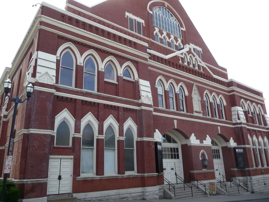 Ryman Auditorium, original home of the Grand Ole Opry