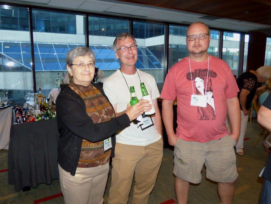 Carol Ann Bonner, Michael Wenzel, David Ruland