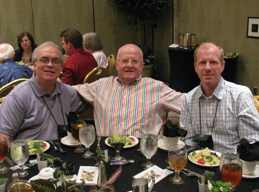 Mel Grice, Paul Kroll, Brett Flewelling