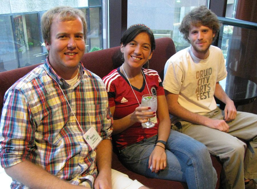 Reece Watson, Laura Clavijo, Jon Grammer