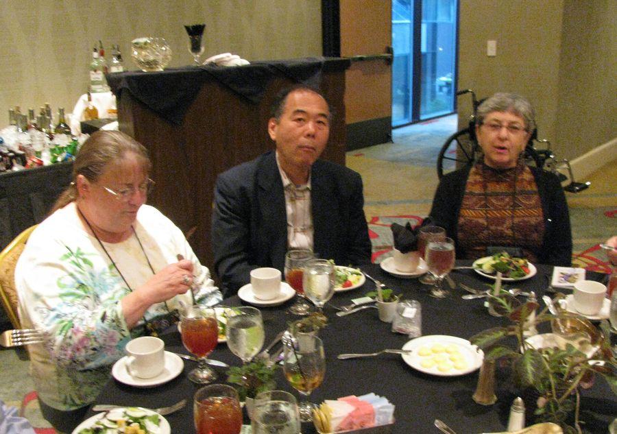 Susan Bradford, Kazuo Horikoshi, Carol Ann Bonner