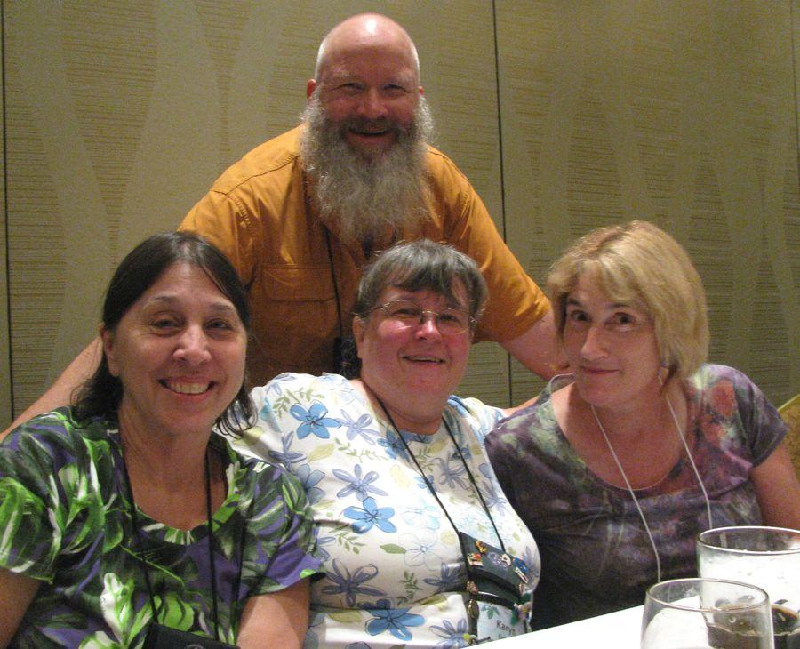 Board Members: Jo Anne Martinez, Karyn Cichocki, Becky Fontes, Bob Clark