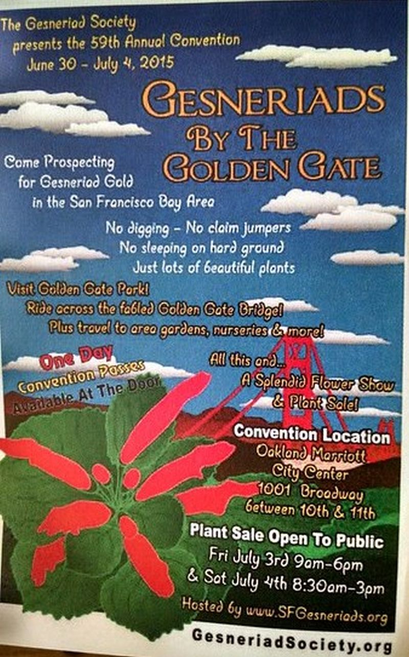 Poster for Convention 2015 in Oakland, California