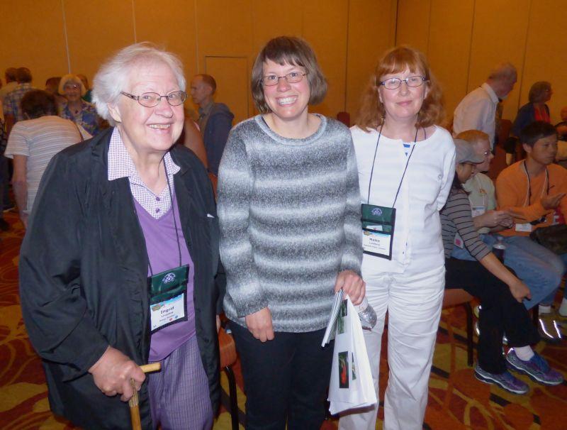 Attendees from Sweden: Ingrid Lindskog, Lena Klintberg, Maike Lundberg