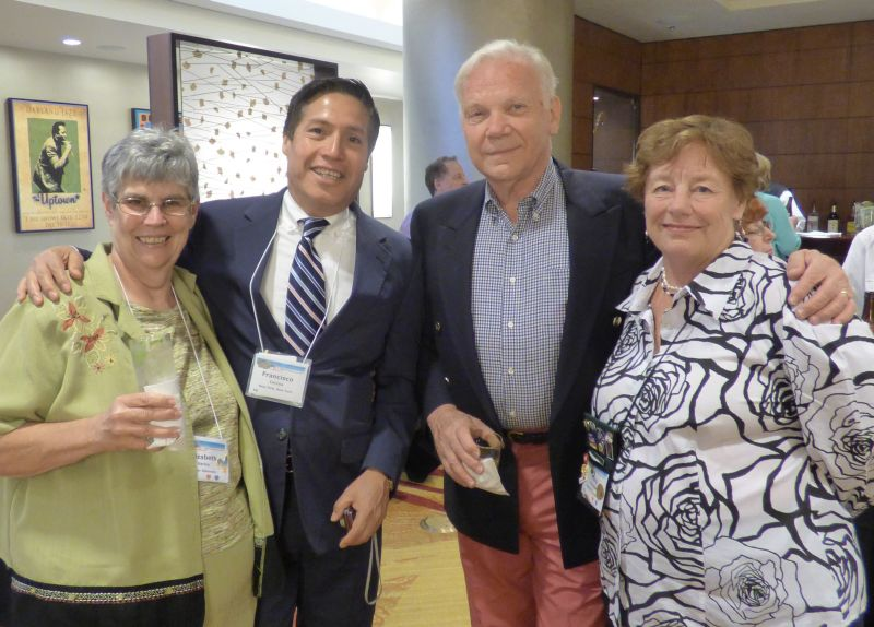 Elizabeth Varley, Francisco Correa, Michael Riley, Molly Schneider