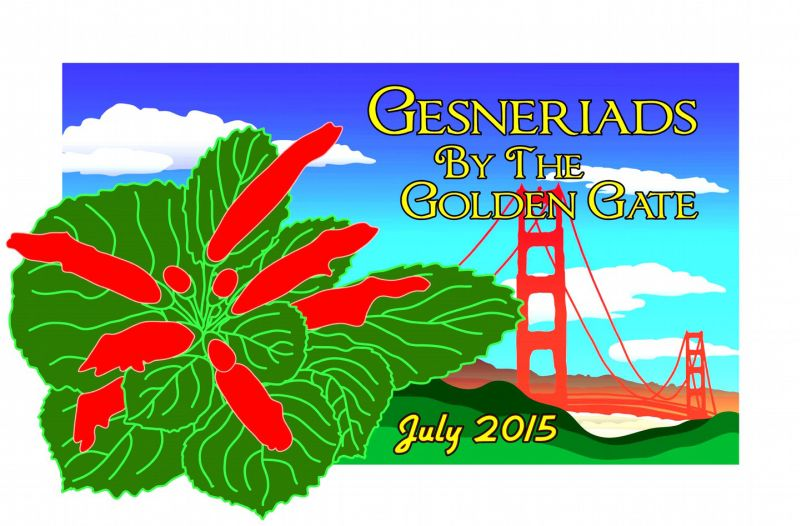 Goodbye to Gesneriads by the Golden Gate … till next year in Delaware