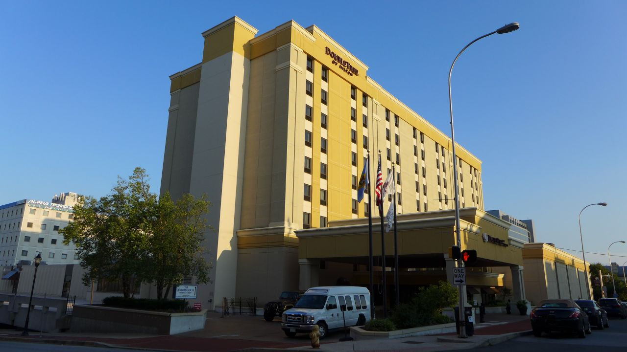 The DoubleTree Downtown Wilmington Hotel