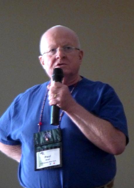 Paul Kroll, co-facilitator of the workshop