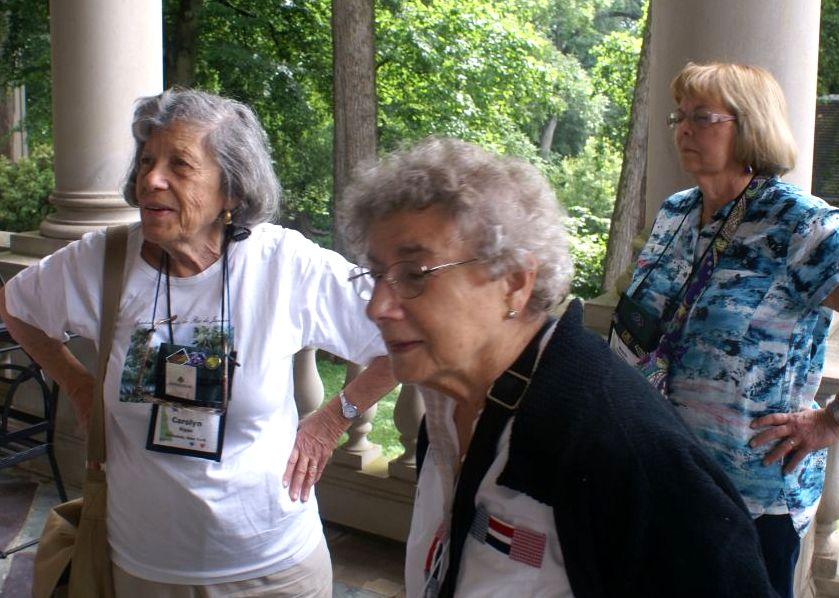 Carolyn Ripps, Anne Vidaver and Barb Festenstein