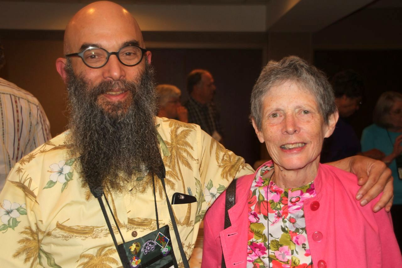 Peter Shalit, Classification Chair, and Judy Becker