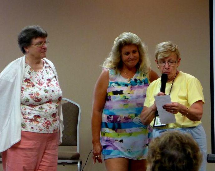 Karyn Cichocki, Cindy Eastman and Gussie Farrice