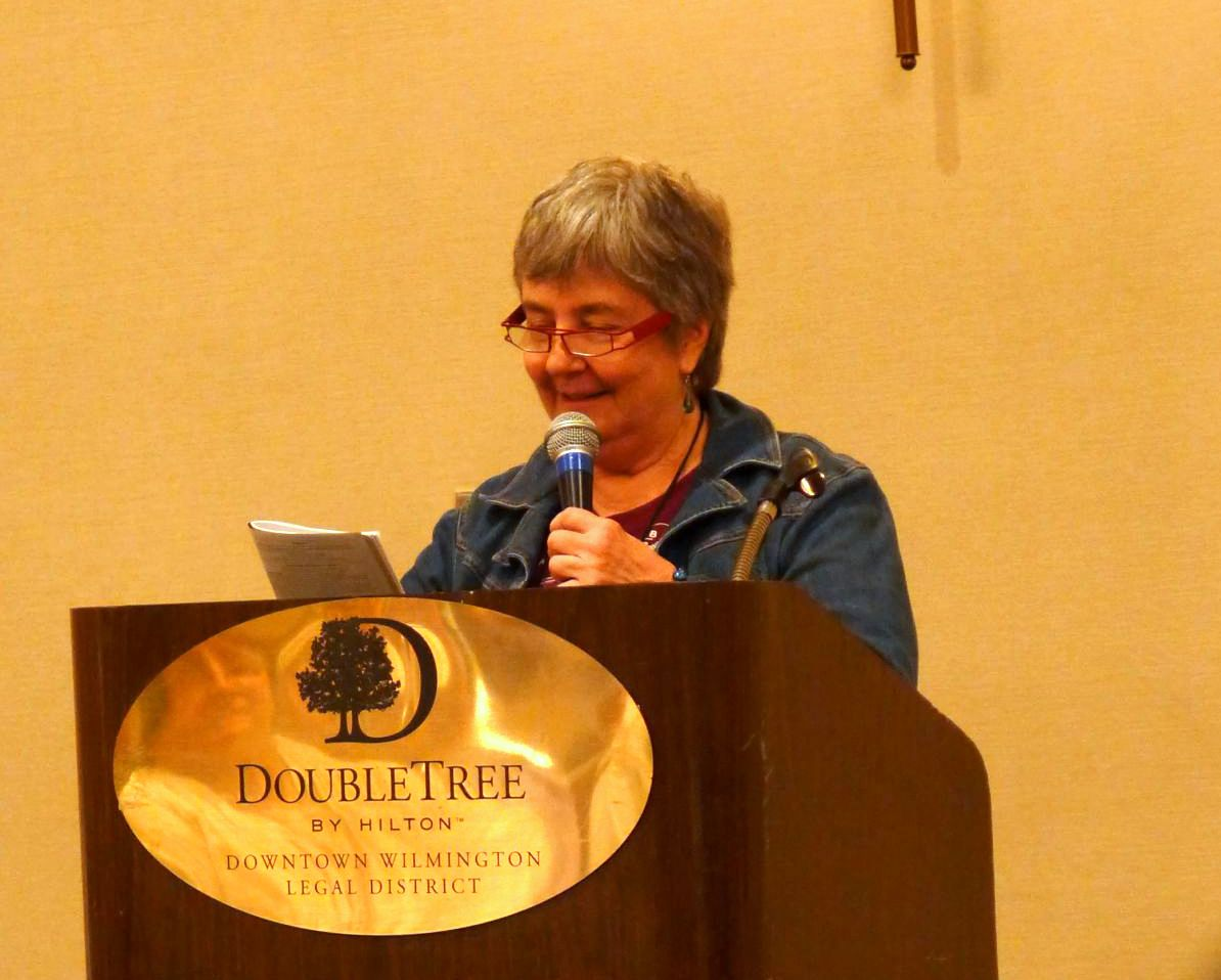 Norah Otto at the luncheon honoring chapters and affiliates