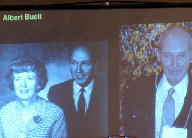 Diantha and Albert Buell