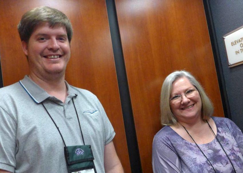 Jeremy Keene and Karen Allen