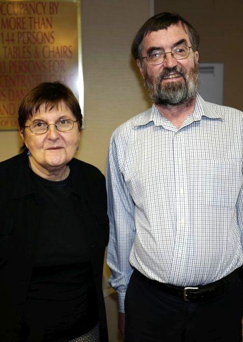 Sylvia Svitak and Alan LaVergne