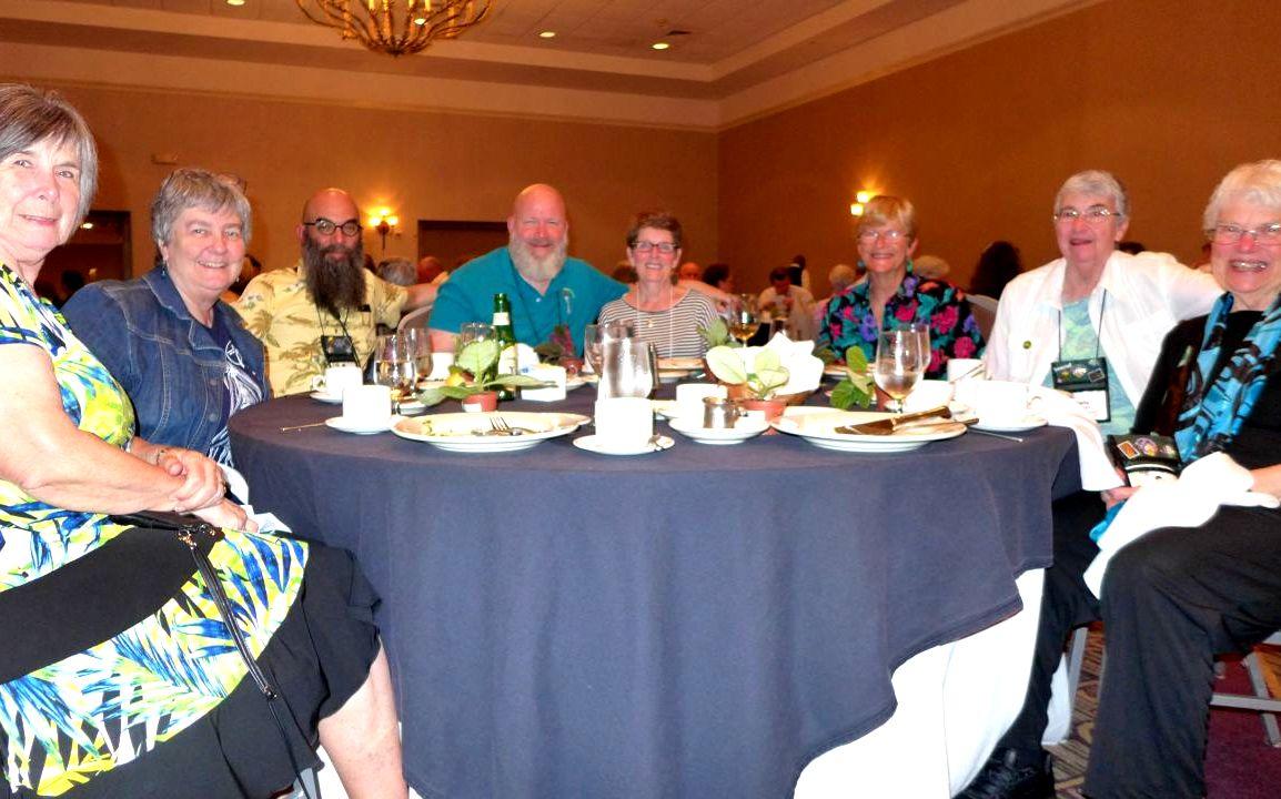 Eileen McGrath, Norah Otto, Peter Shalit, Bob Clark, Terry Celano, Betsy Gottshall, Sally Robinson and M J Tyler