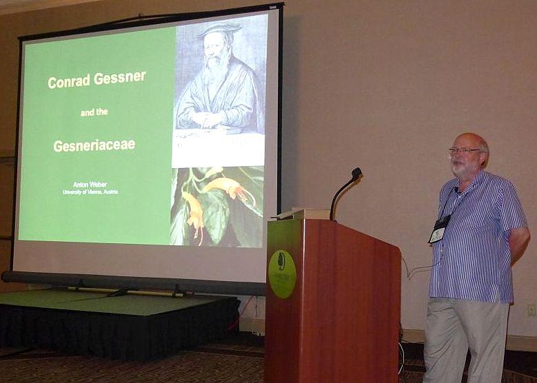 Dr. Weber's presentation was delivered by Ron Myhr