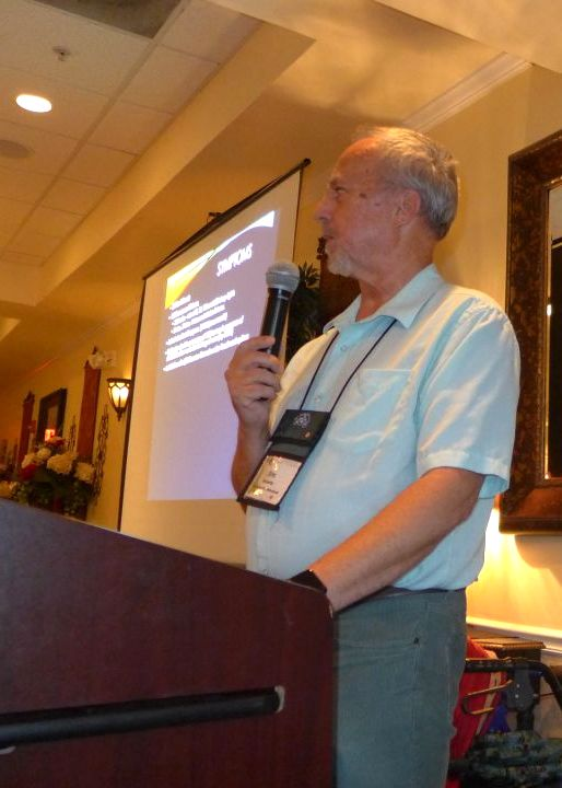 "Jim Roberts, Speakers Co-Chair,  presents ""Hoarding-One Man's Attempt To Grow It All"""