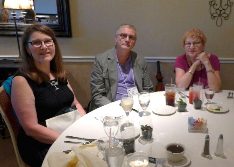 Judith Smith, Jeff and Edie Chapman