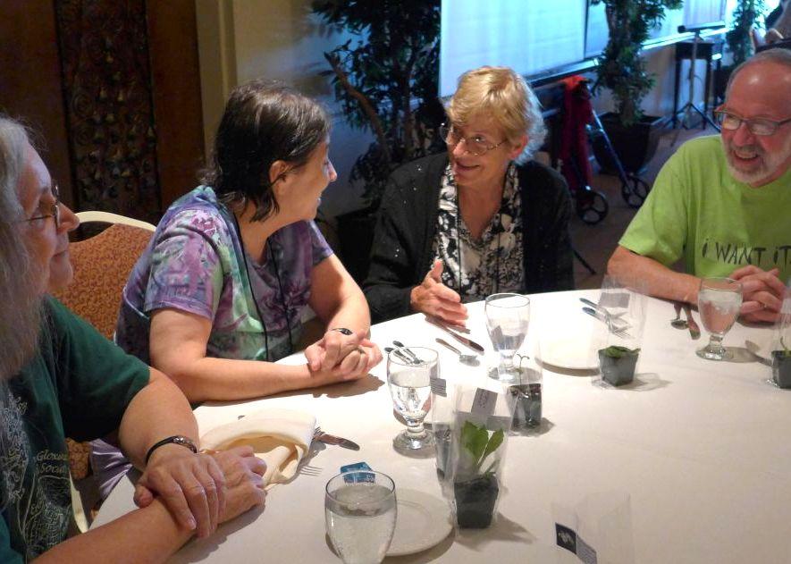 Jeanne Katzenstein, Jo Anne Martinez, Betsy Gotshall, and Austin Grevious