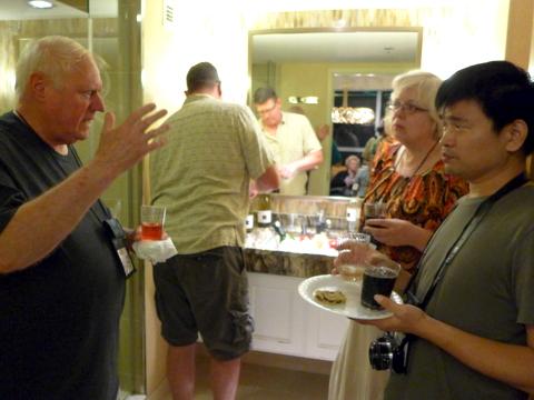 John Daniel, Brent Ruttman, Irina Nicholson and Qiu Zhi-Jing