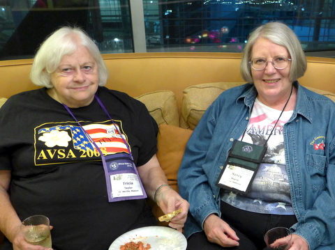 Tricia Taylor and Nancy Moerer