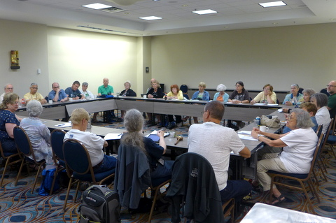 Friday afternoon meeting of the Board of Directors