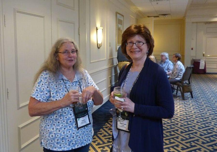 Judy Anderson and Maureen Pratt