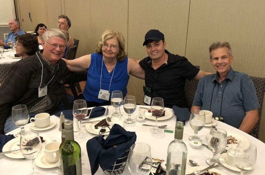 Gary Hunter, Mary Schaeffer, Jeremy Stevens, Tom Finnegan