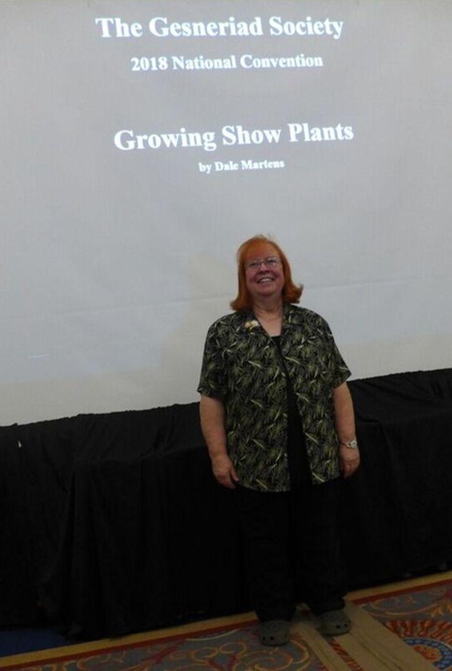 """Dale Martens' lecture """"Growing Show Plants"""""""