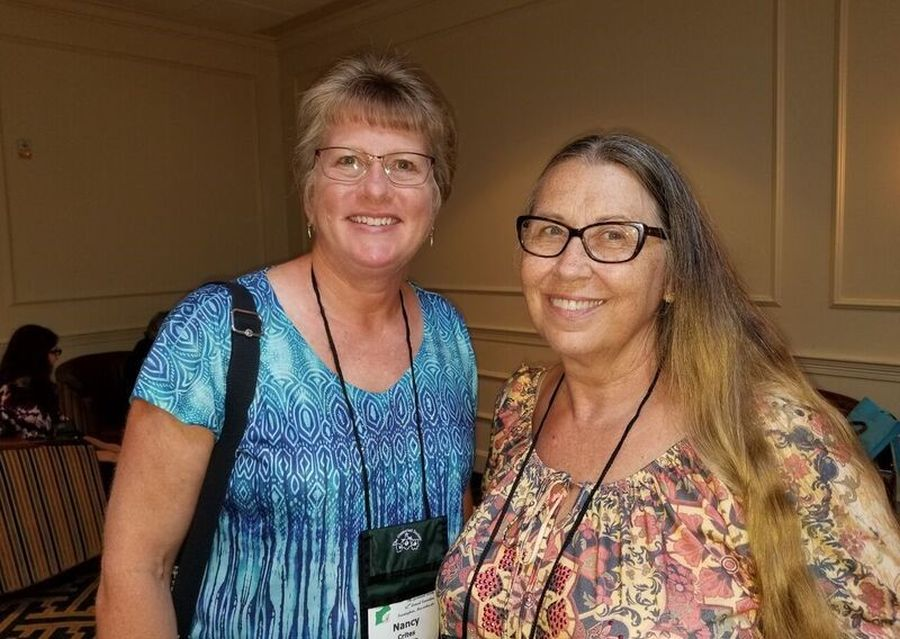 Nancy Crites and Donna Guiliano