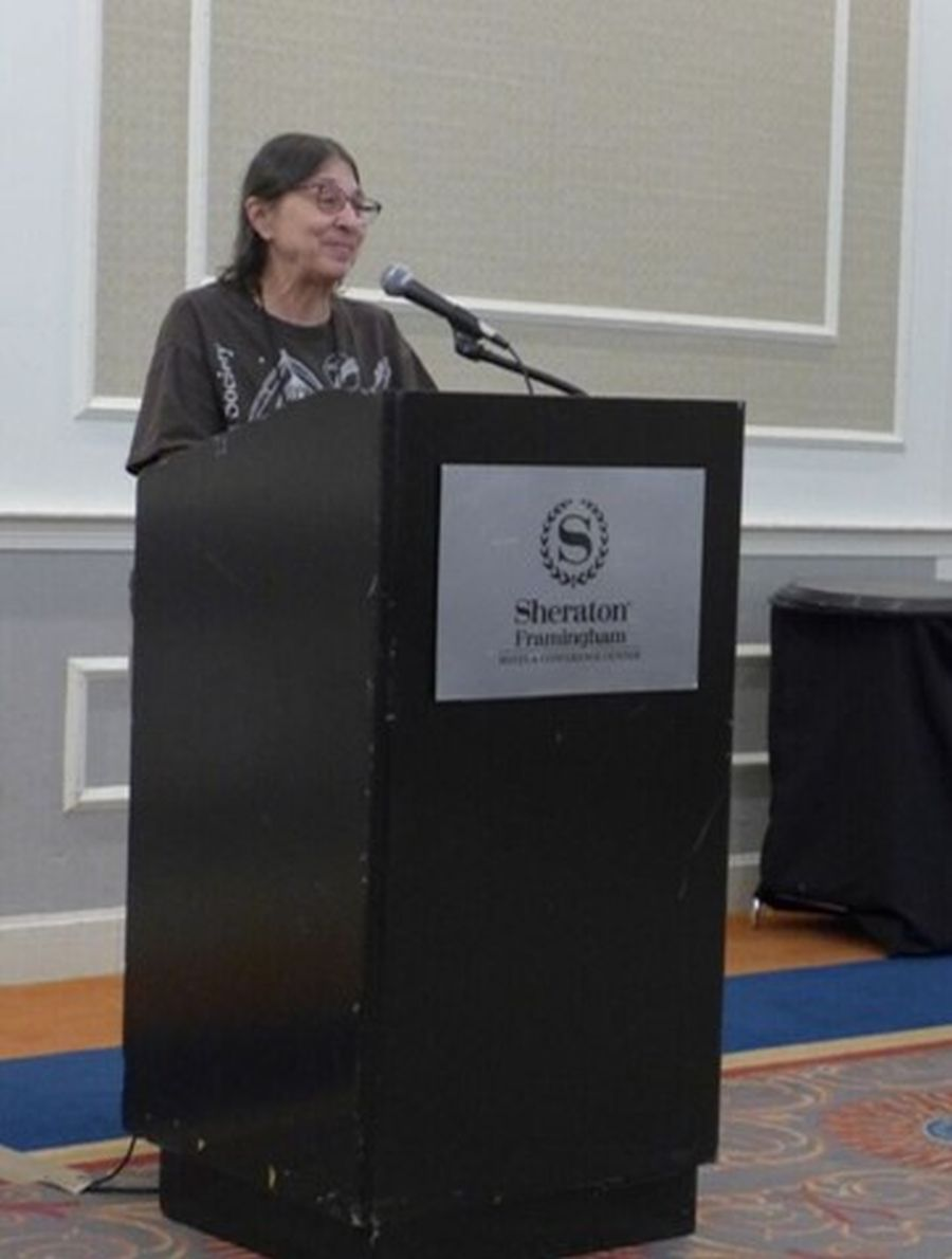 Society Convention Chair Jo Anne Martinez