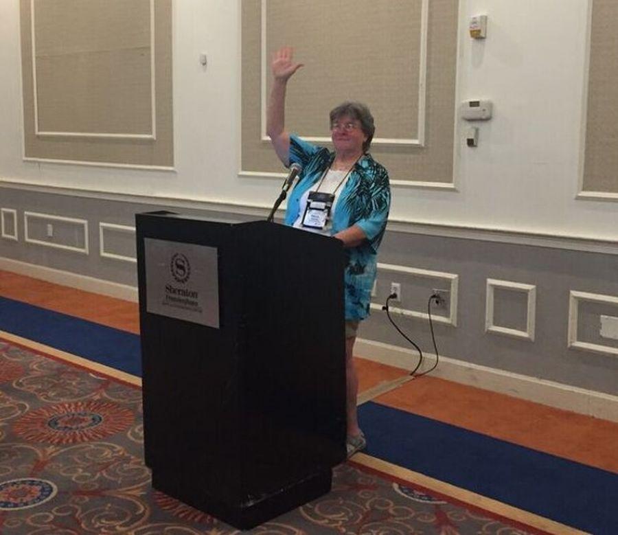 Chapters & Affiliates luncheon with Karyn Cichocki
