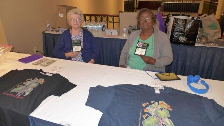 Apparel sales with Kathy Spissman and Johnnie Berry