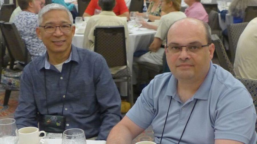 Hung Nguyen and Paulo Castello da Costa